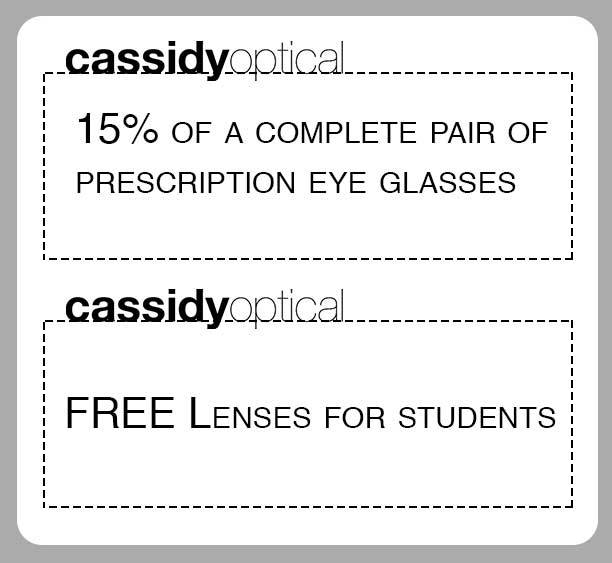 Houston optical store savings.